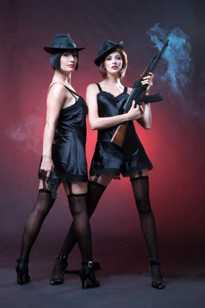 Katy Moore (left) as Velma Kelly and Jessica Sole as Roxy Hart in Chicago. The musical will be directed by Steven Stead.  sc 1 st  SoSuterBillu2026.. & More KickstArt razzle-dazzle! u2013 u2026..SoSuterBillu2026..