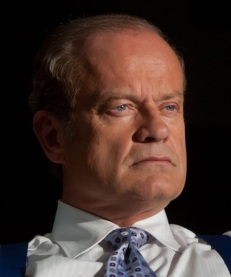 "In this image released by Starz Media, Kelsey Grammer portrays Chicago Mayor Tom Kane on the Starz original series, ""Boss."" Grammer had a spectacular run as the pompous Dr. Frasier Crane on ""Frasier"". But Grammer's two decades as a sitcom shrink were merely a prelude to Tom Kane, the fiercely charismatic and flawed mayor of Chicago he plays on the Starz drama, ""Boss."" (AP Photo/Starz, Chuck Hodes)"